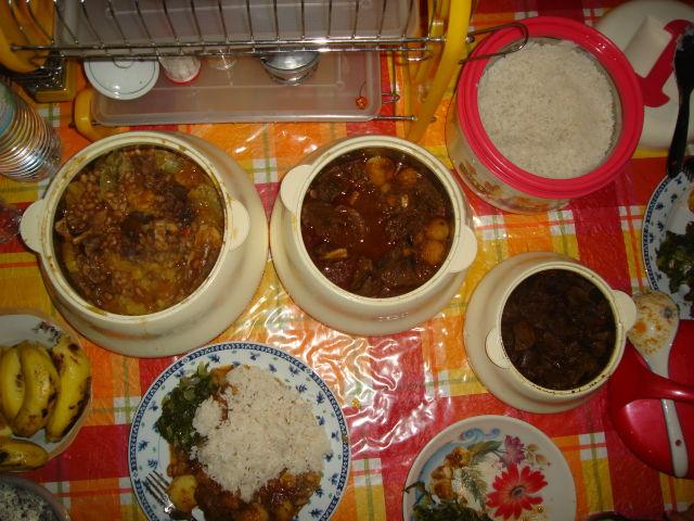 supper at Sawiya's house - Bukoba, Tanzania, 2008 - Photos - About ...