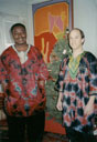Greg and Emmanuel Edomwande, South Bend, Indiana, 1999