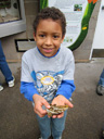 Joachim holding a butterfly , Westminster, Colorado, 2011