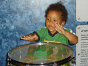 """Joachim playing a drum, Children's Museum"", Denver, Colorado, 2007"