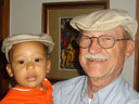 Joachim and Grandpa, Fort Collins, Colorado, 2006