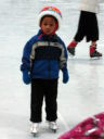 Joachim ice skating, Fort Collins, Colorado, 2009