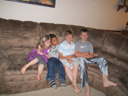 """Kasey, Joachim, Griffin and Connor"", Cedar Rapids, Iowa, 2011"