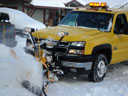 snow plow, Fort Collins, Colorado, 2006