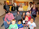 The Vogl family on Christmas, Fort Collins, Colorado, 2012