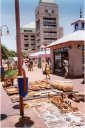 souvenirs on Post Street Mall, Windhoek, Namibia, 1995